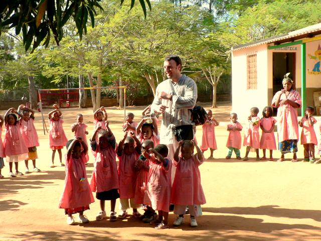 Presentación en la Escolinha