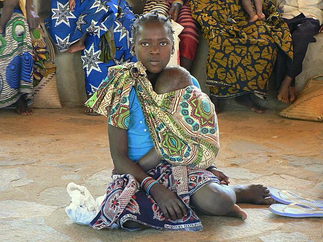 Otra Joven Mamá que acudia al Proyecto Isabelinha