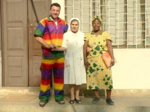 Fer, Cándida y Sra. Rosema