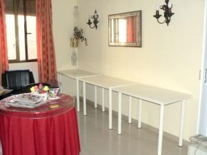 Después de montar las mesas