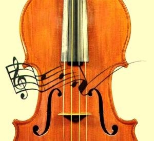 música y violín