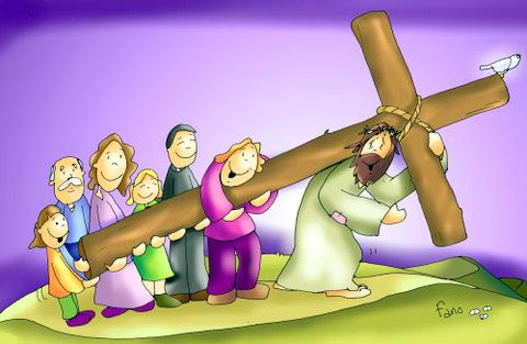 No he venido a traer paz, sino espada Tomar-la-cruz