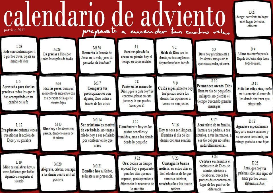 Club Vainillitas Calendario De Adviento
