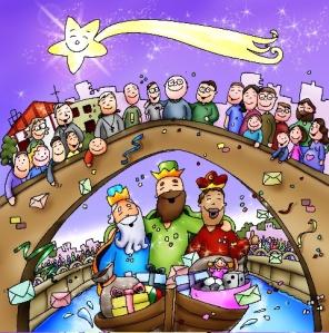 Reyes Magos en el Puente