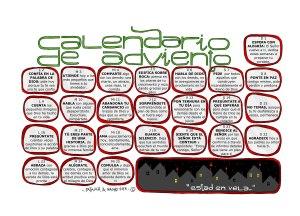 calendario adviento 2013 color - Odres Nuveos