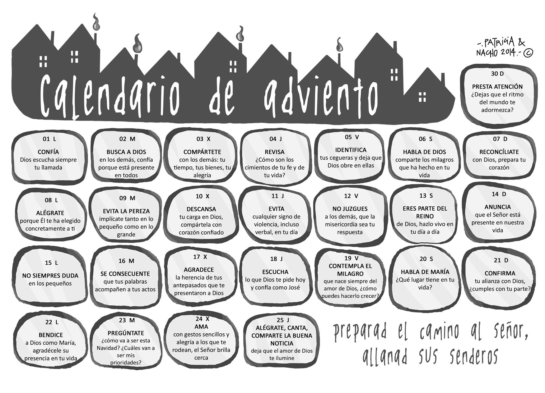 calendario de adviento 2014