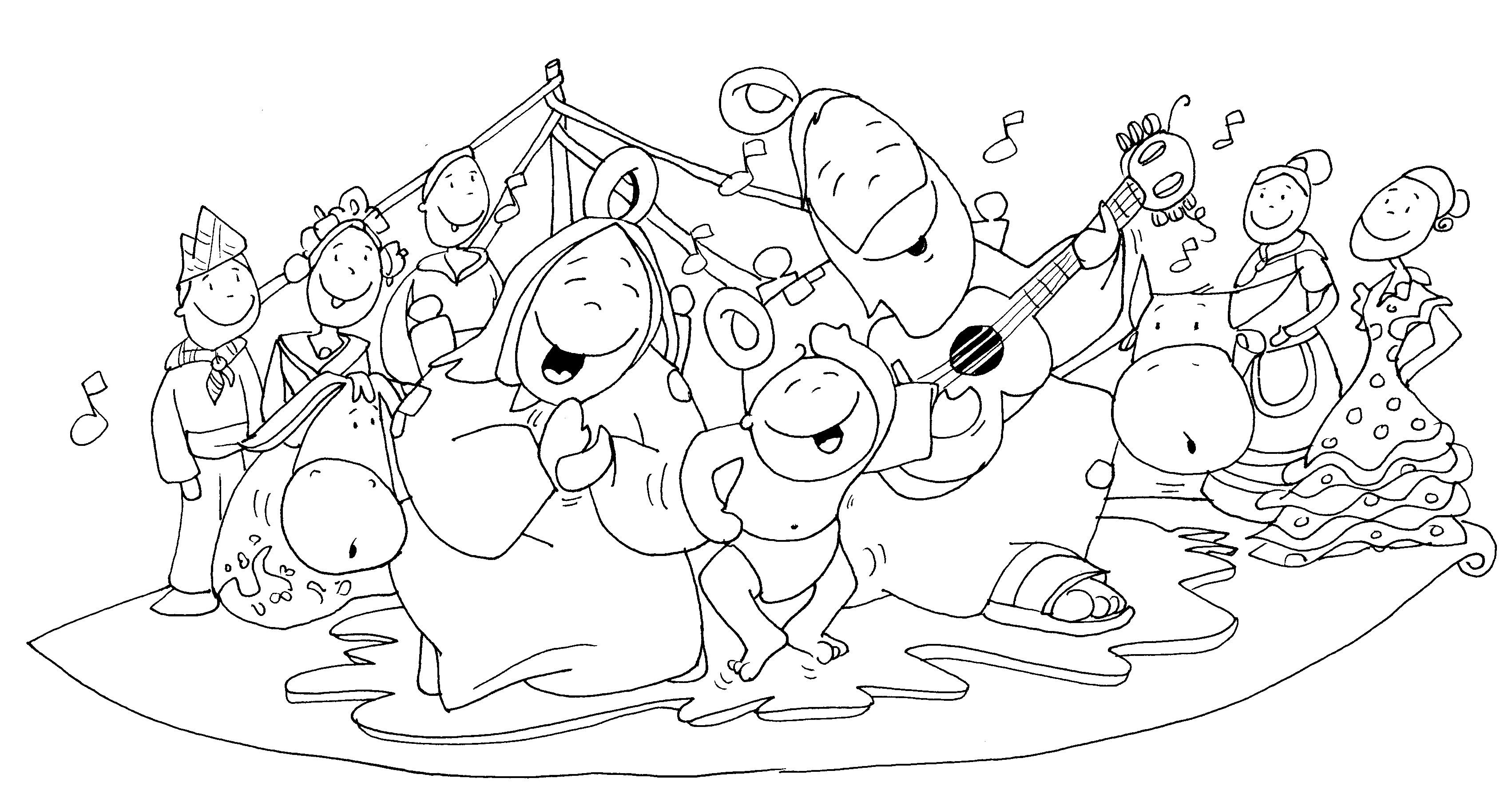 dibujos fano navidad – Odres Nuevos