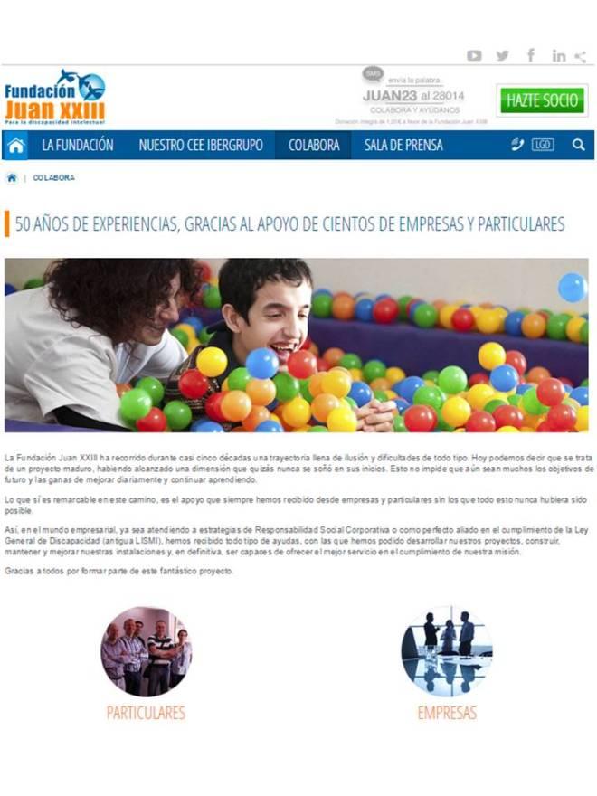 Odres Nuevos - Fundación Juan XXIII