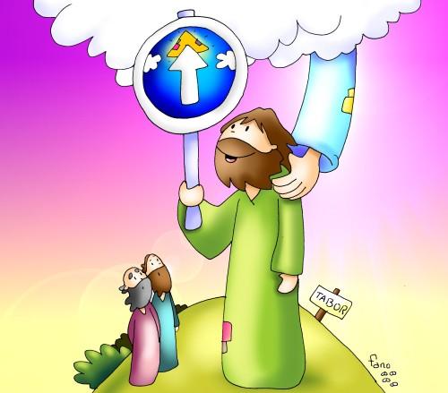 Odres Nuevos Evangeilio 2 domingo cuaresma color