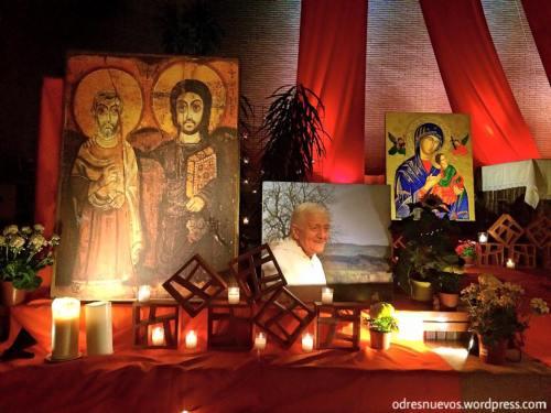 Odres Nuevos oración Ecuménica Taizé Madrid1