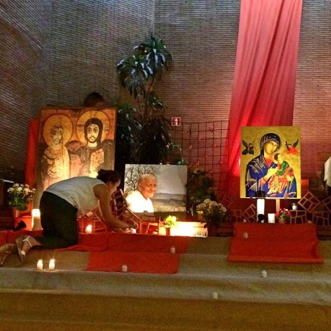 Odres Nuevos Oración Ecuménica Taizé Madrid2