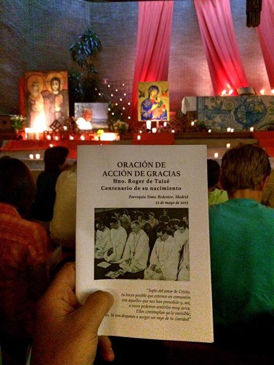 Odres Nuevos Oración Ecuménica Taizé Madrid5