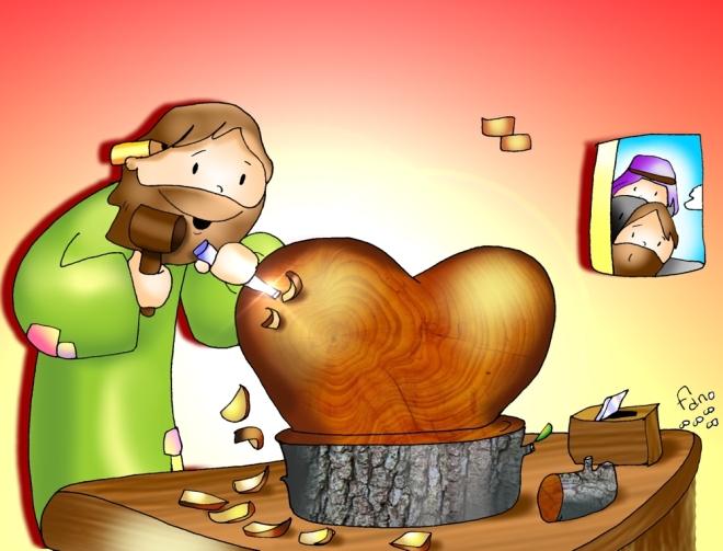 Odres Nuevos - El Carpintero talla mi Corazón Color