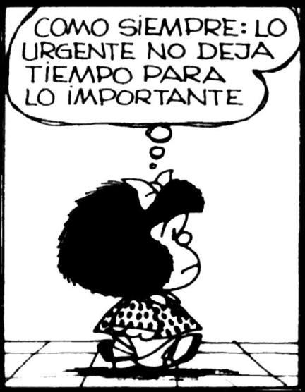 Odresnuevos Mafalda lo Importante