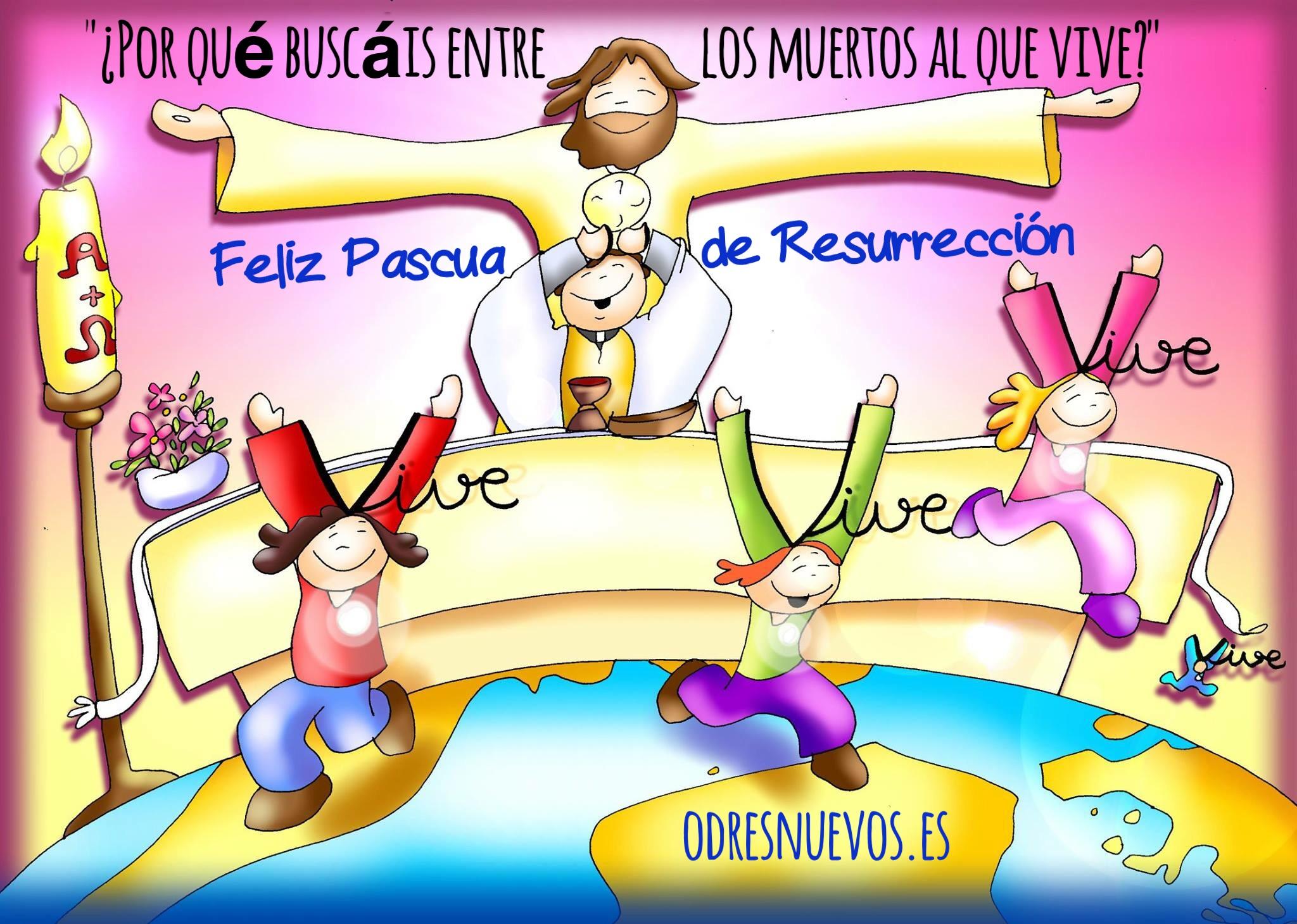 Feliz Pascua De Resurrección Odres Nuevos