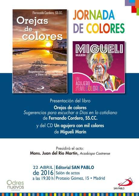 Cartel JORNADAS DE COLORES