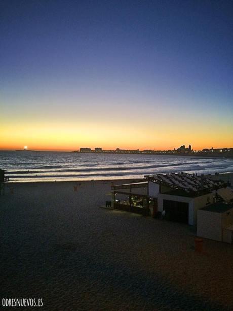Odresnuevos atardecer Cádiz