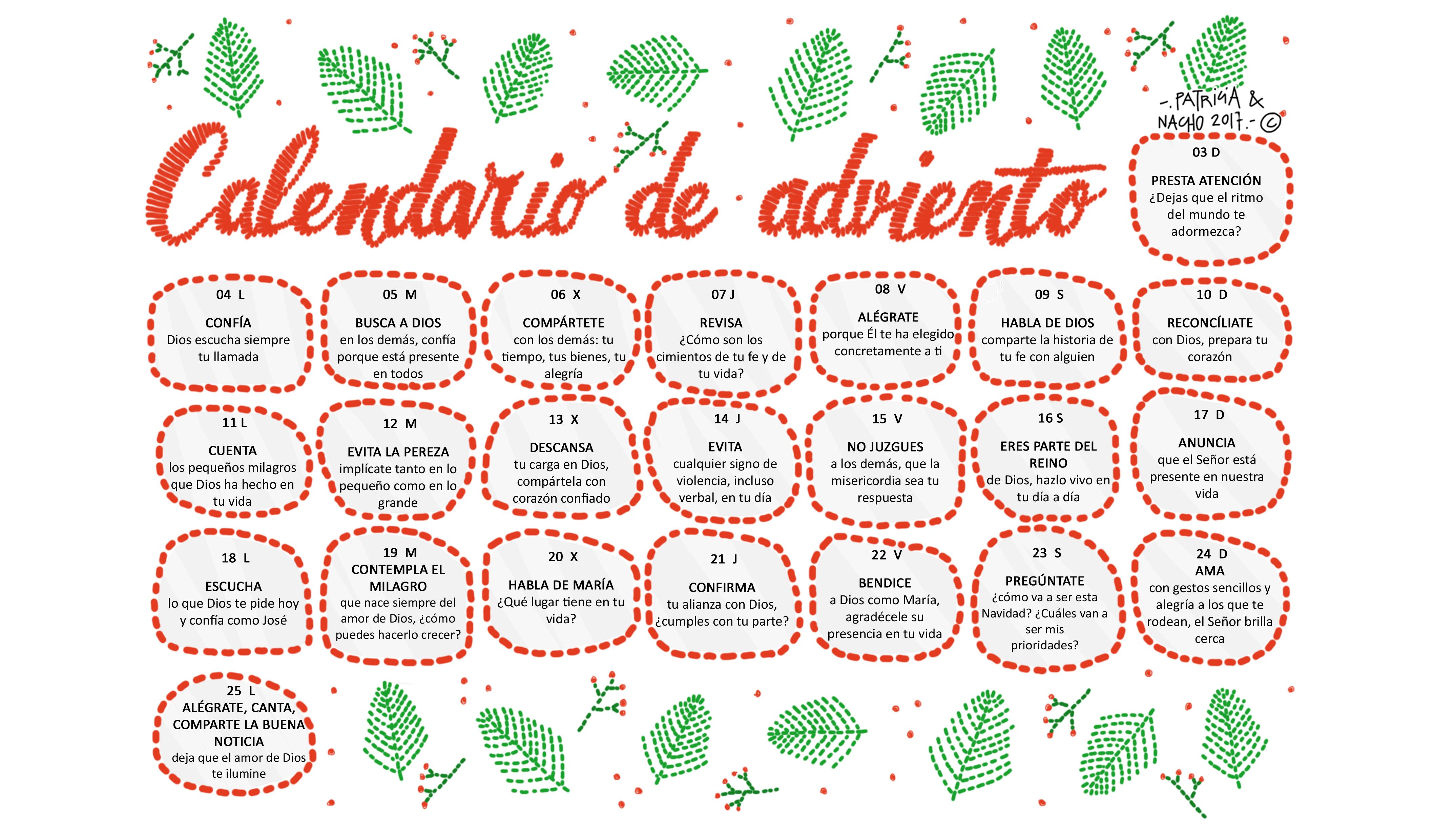 Calendario 2018, más de 150 plantillas para imprimir y descargar ...